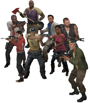 Left 4 dead 2 survivors png. The addon guide because
