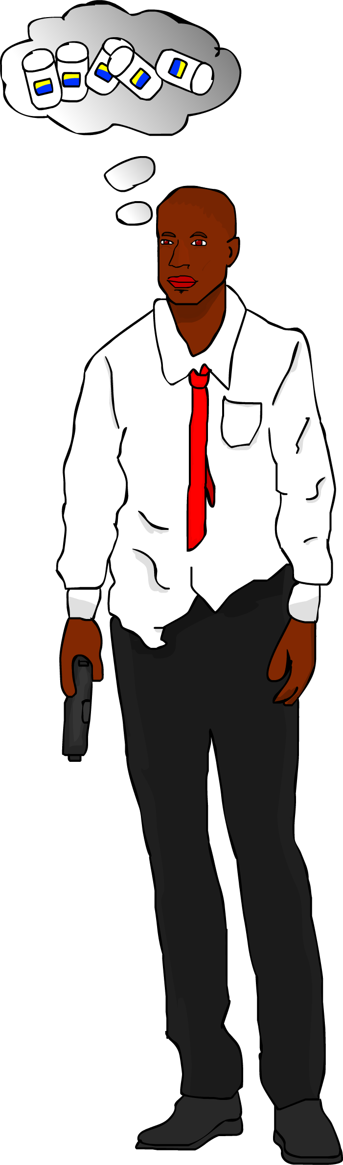 Left 4 dead louis png. By fub rion on