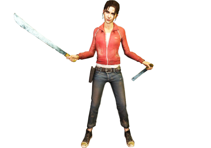 Left 4 dead zoey png. Nobackground by spaulding x
