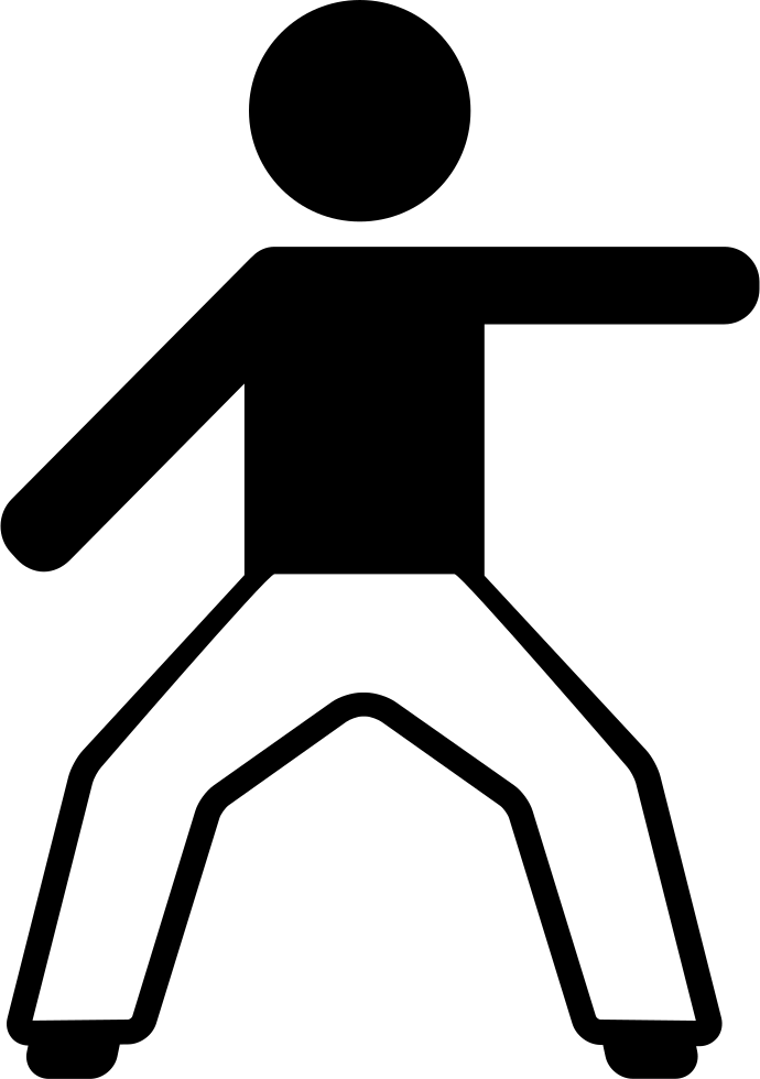 Left arm png. Boy stretching svg icon
