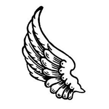 Left wing. Free clipart download clip