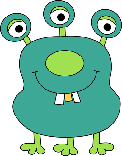 monster clipart lil monster