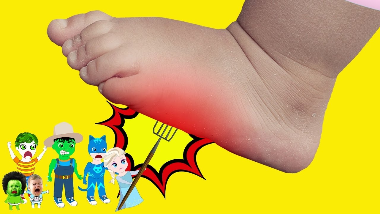 leg clipart giant foot