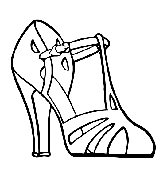 Leg vector high heel. Free art sandal images