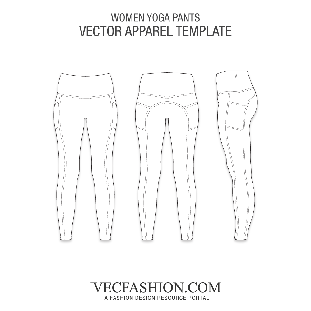 Leg vector women's. Shorts bottoms tagged yoga