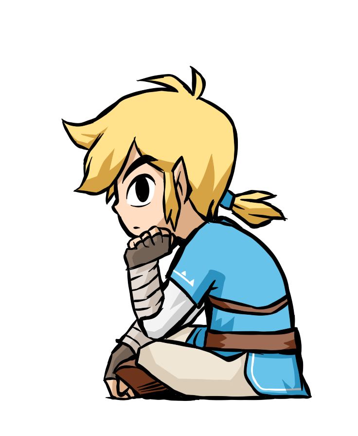 T drawing toon. Breath of the wild