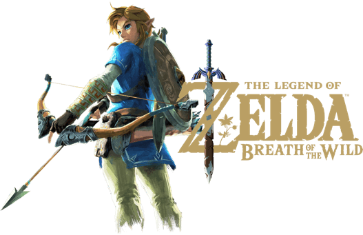 Legend of zelda breath of the wild logo png. For nintendo switch link