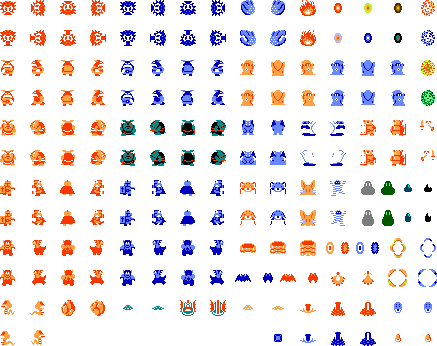 Legend of zelda nes sprites png. The sprite sheets galaxy