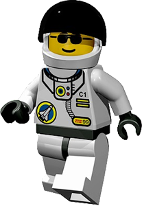 Lego astronaut png. Images in collection page