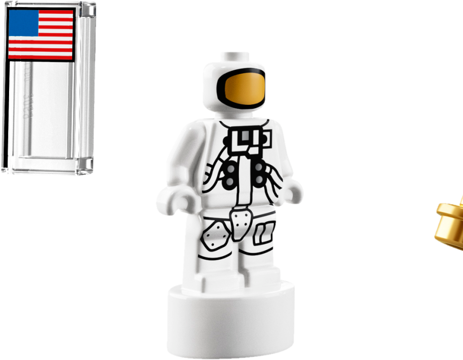 Lego astronaut png. Download microfig image with