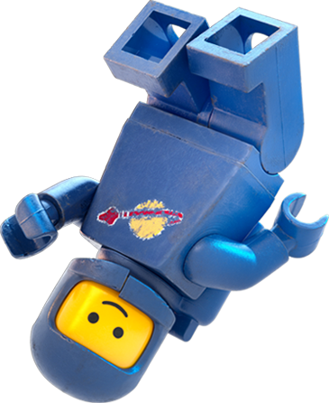 Lego astronaut png. Benny the movie heroes
