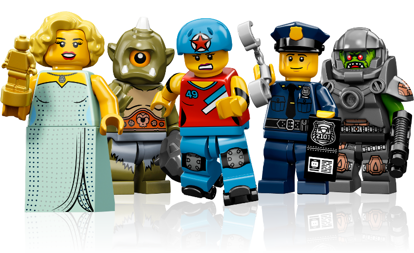 Lego background png. Image interface minifigs right