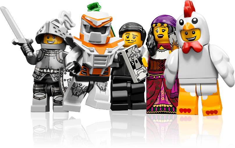 Lego background png. Image interface minifigs left