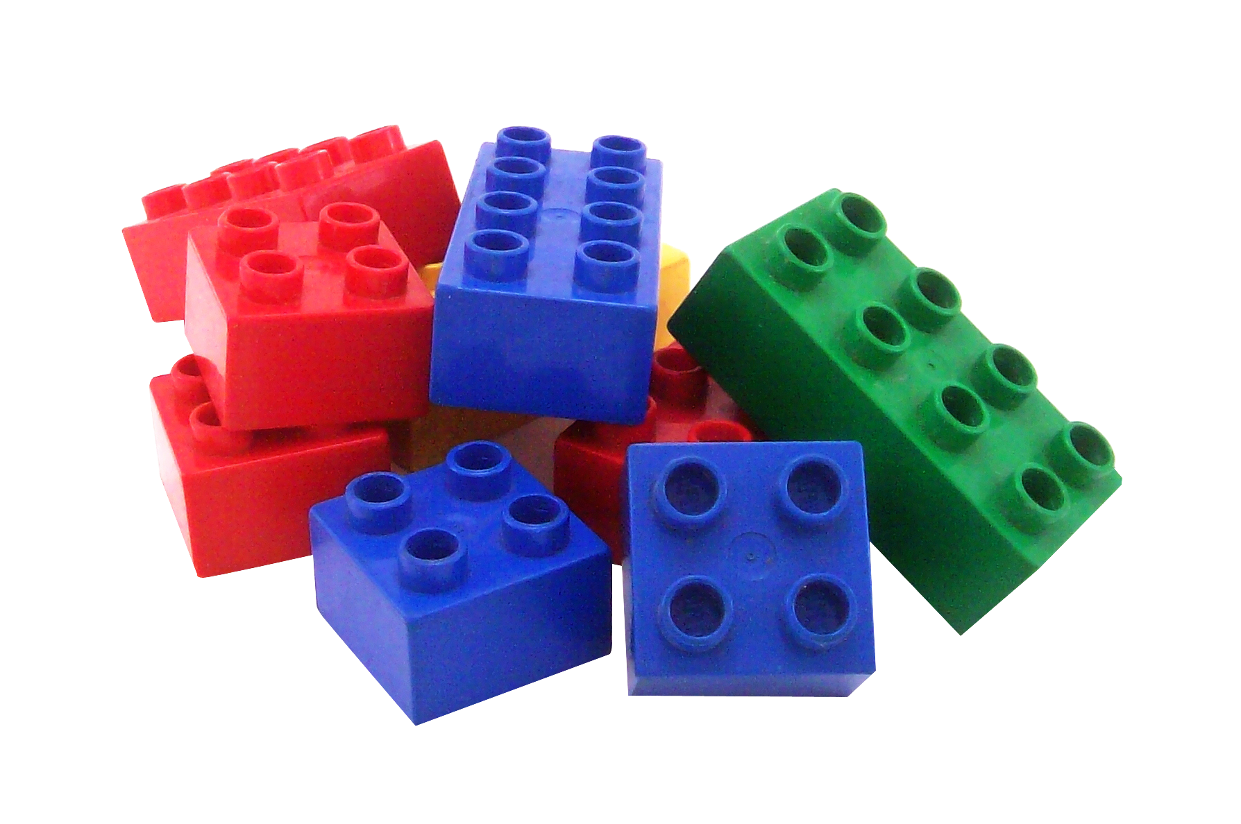legos transparent set