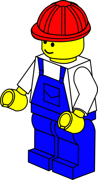 Workers clipart cement worker. Lego figure