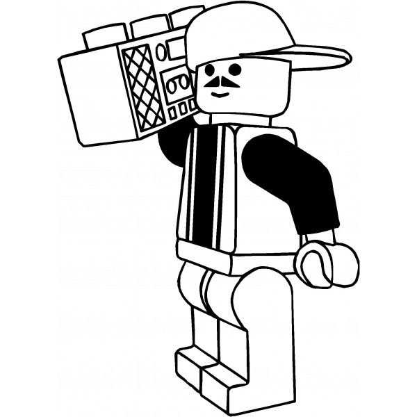 Lego clipart black and white. A collection of faces