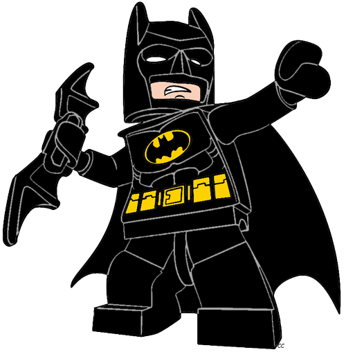 Batarang drawing cartoon. Batman clipart the lego