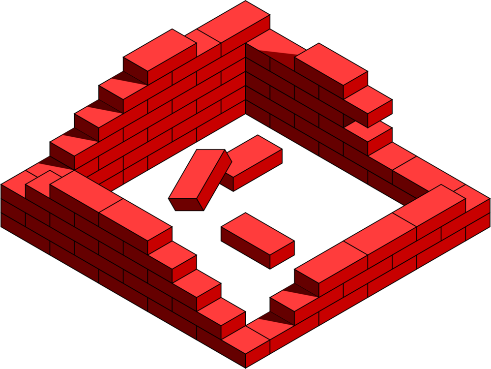 Brick clipart old brick wall. Lego house free commercial