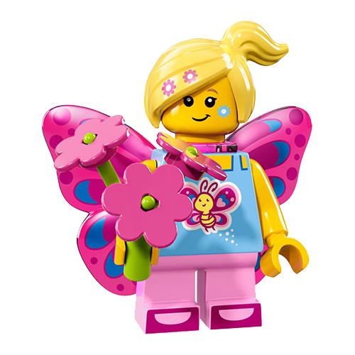 Lego girl png. Butterfly clipart