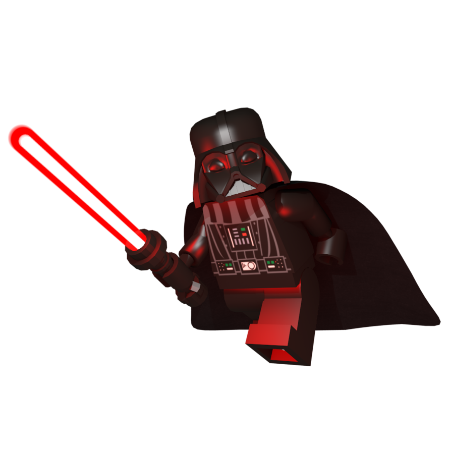 Lego darth vader png. Render by johnbuhr on