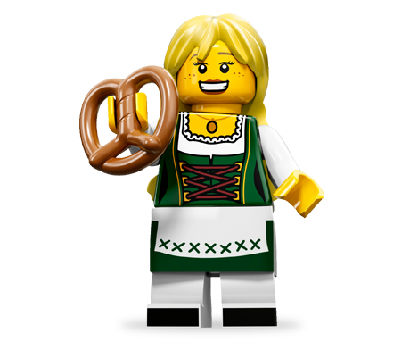 Lego girl png. Pretzel minifigures online recipes