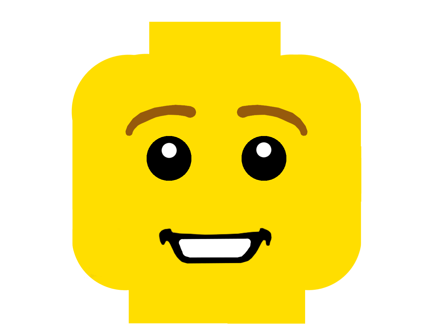 Lego head png. Bricks or not