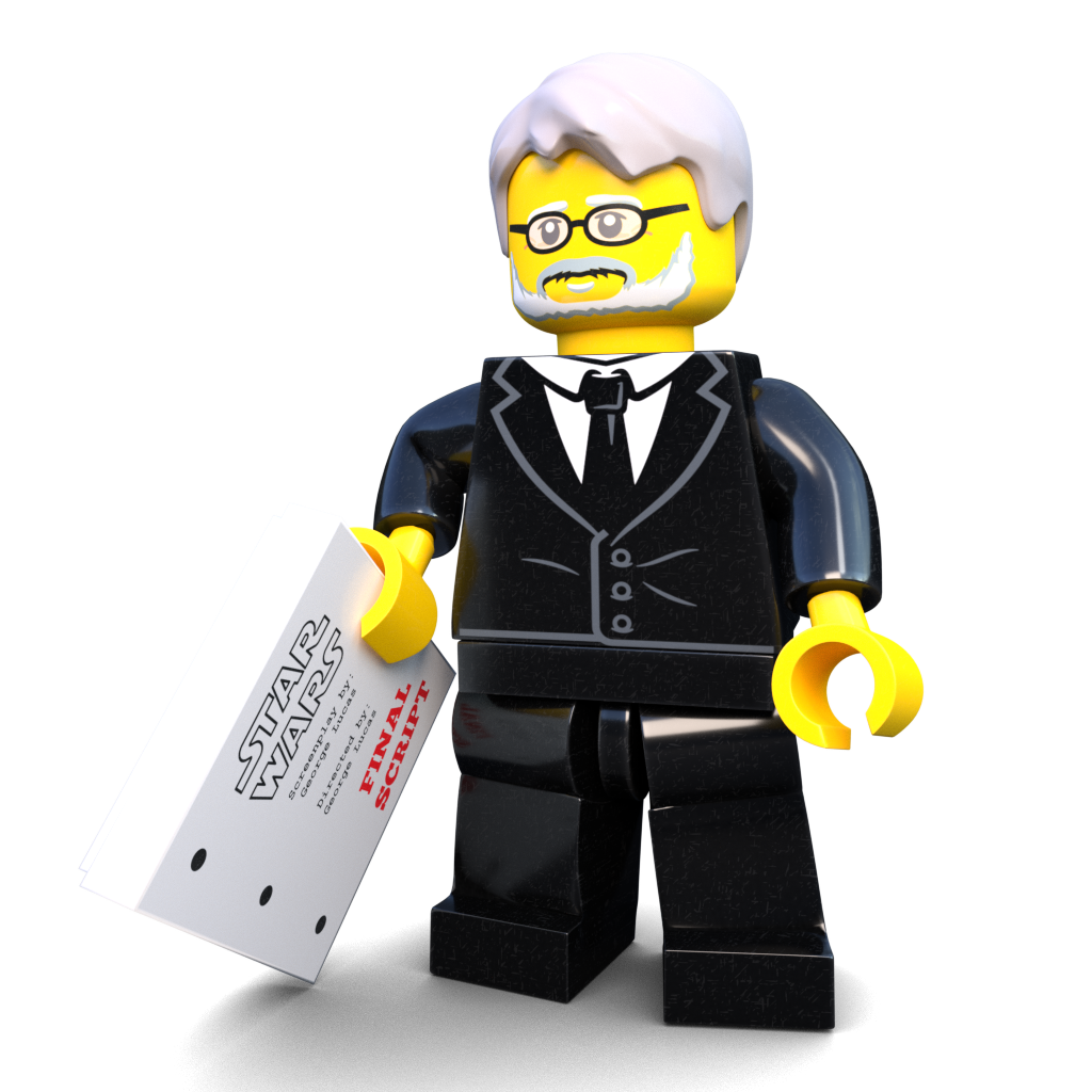 Lego minifigure png. Brick loot exclusive writer