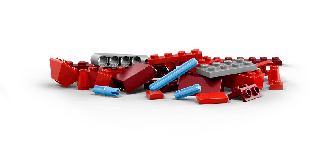 Lego pile png. Red zone kickstarting creative