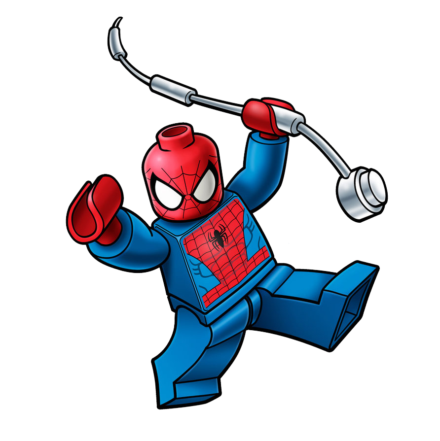 Lego spiderman png. Marvel clipart