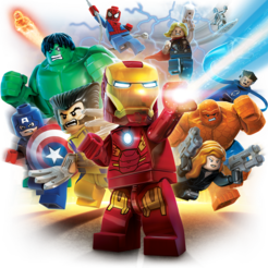 Marvel super heroes png. Lego on the mac