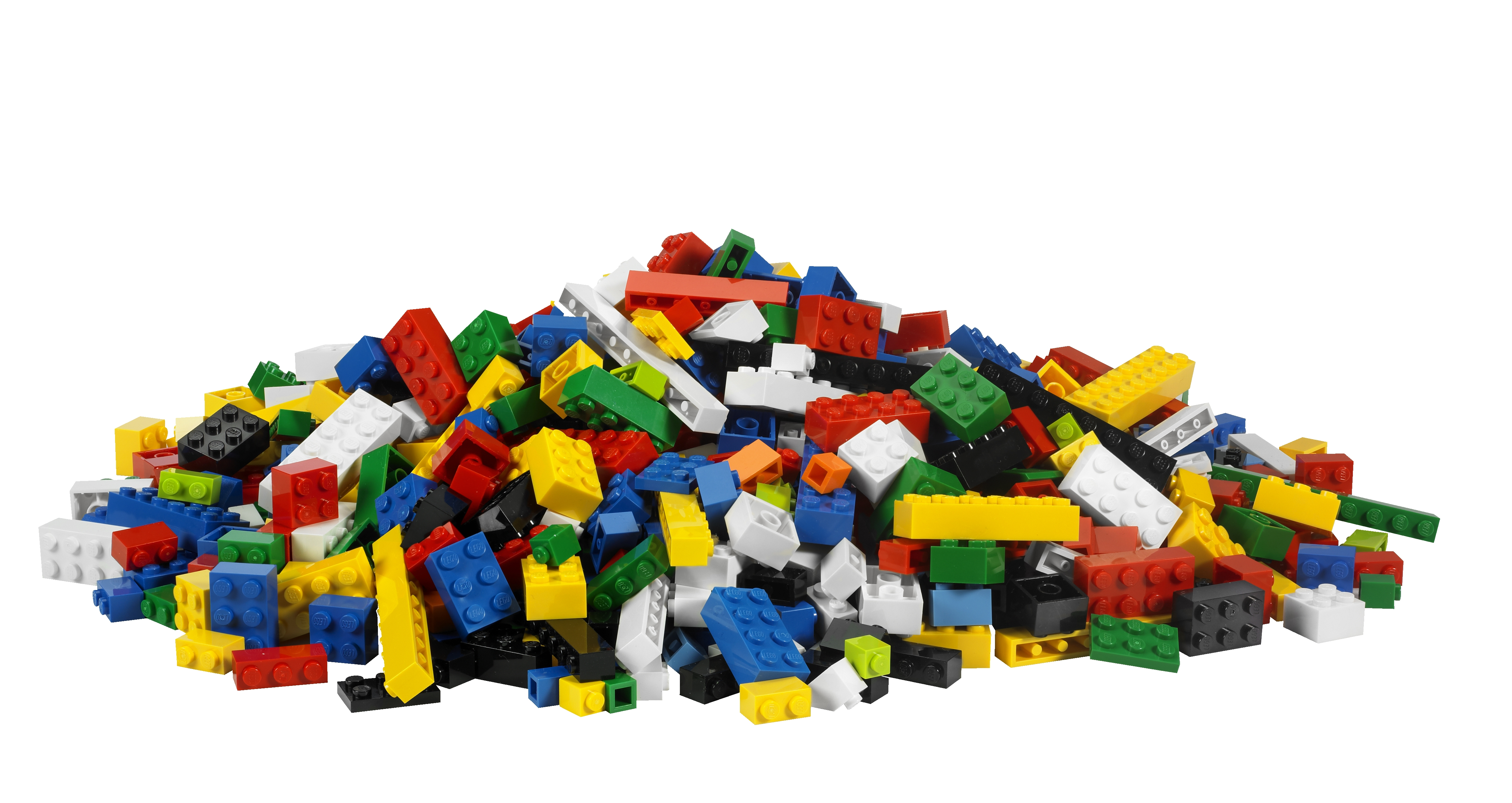 Legos clipart. Playing with is more