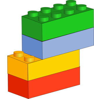 Block clipart. Lego toy computer icons