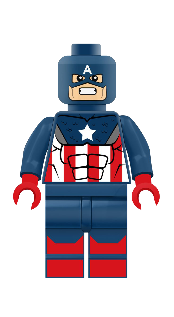captain america lego png