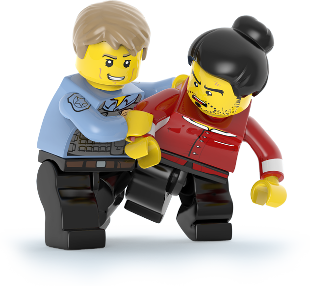 Legos transparent character. Official site lego city