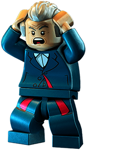 Legos transparent character. Lego dimensions year still