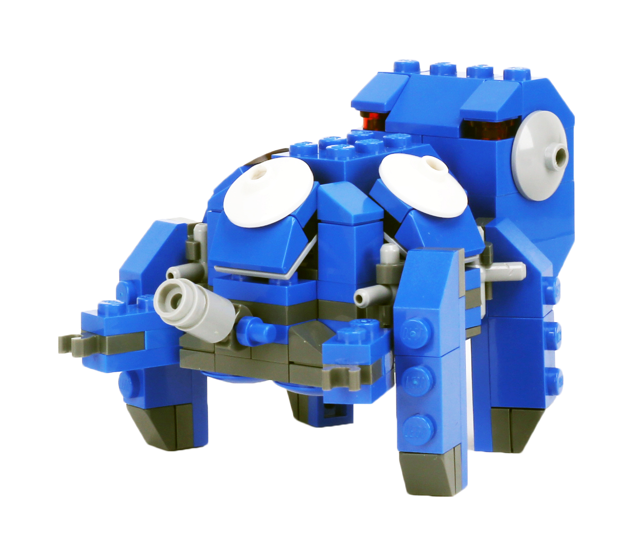 Legos transparent ghost. In the shell tachikoma