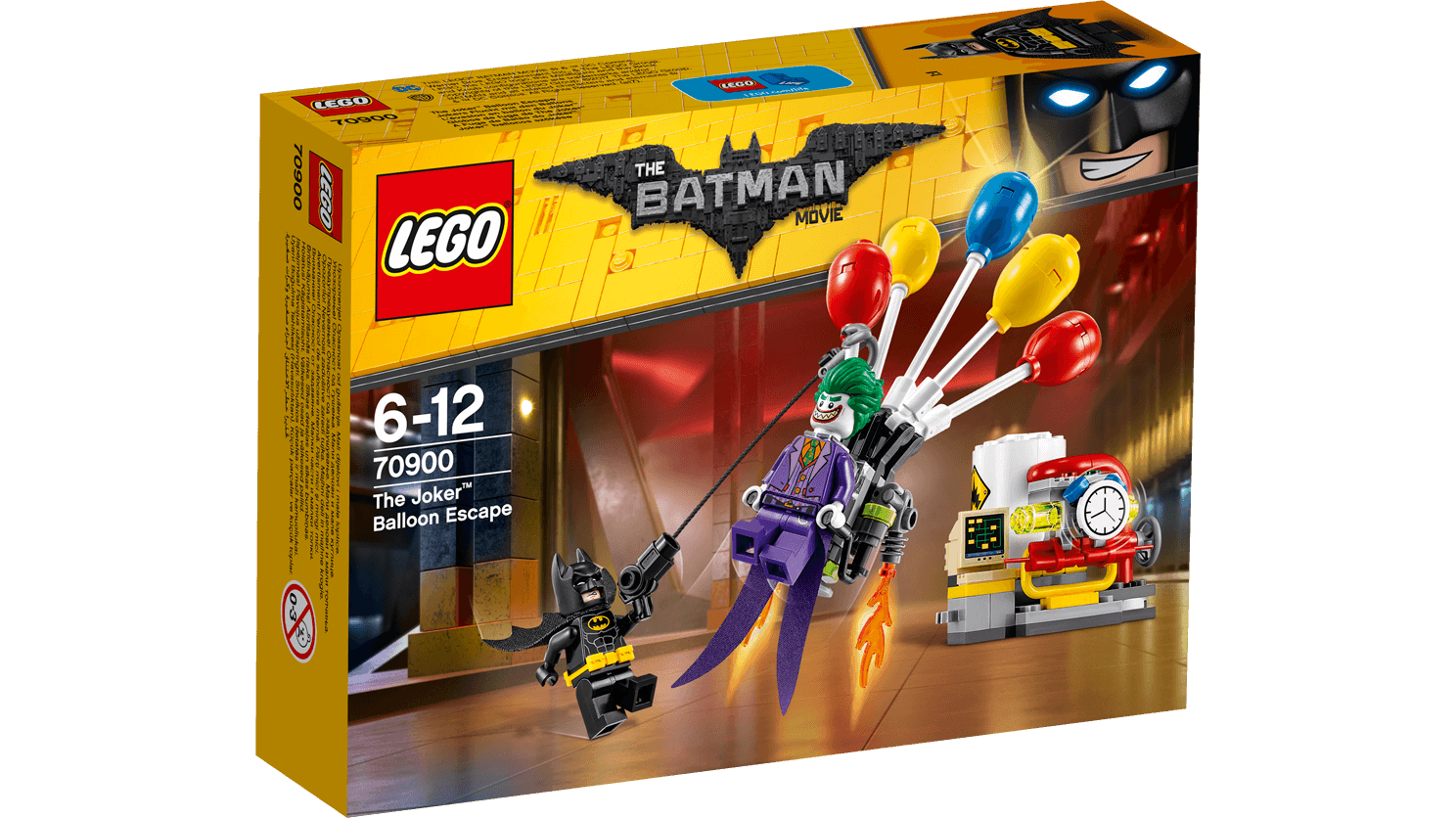 Legos transparent set. The joker balloon