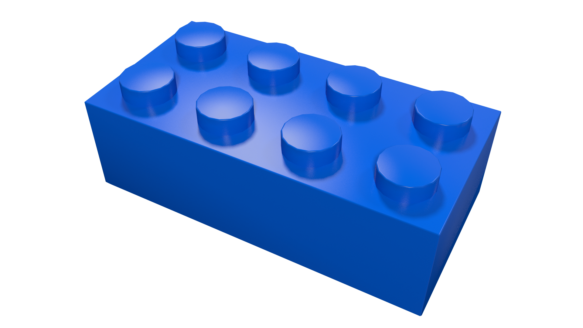 transparent lego dark blue