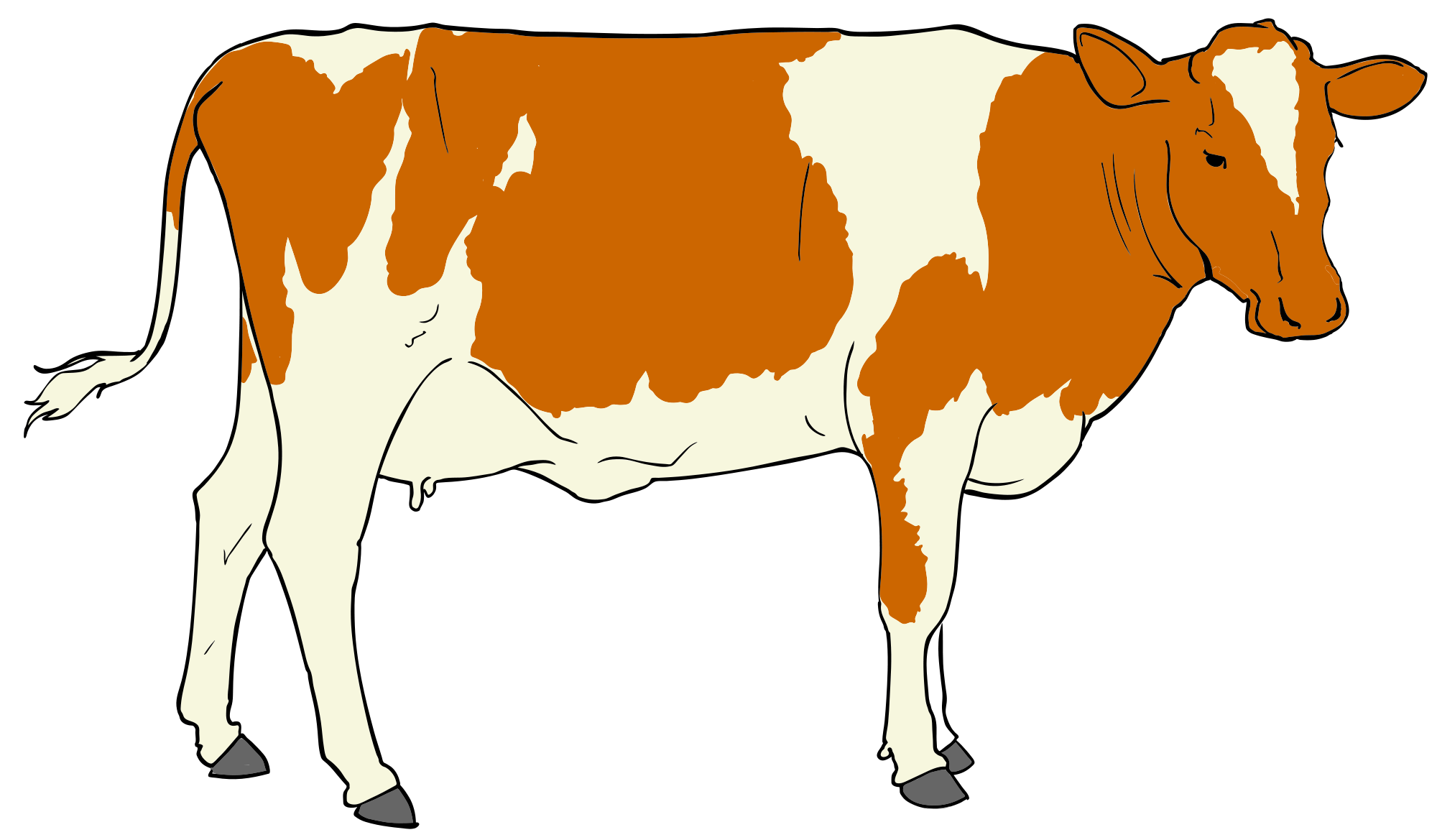 Legs clipart cow. File svg wikimedia commons