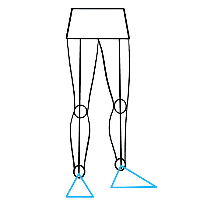 How to draw legs. Drawing leg png free download
