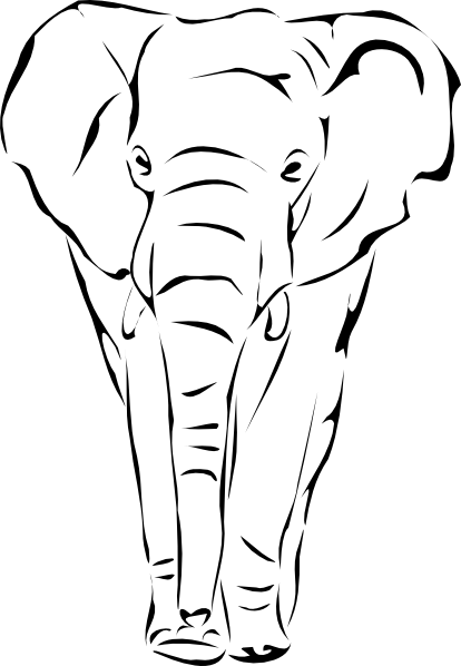 Legs png elephant rider. Sketches of elephants face