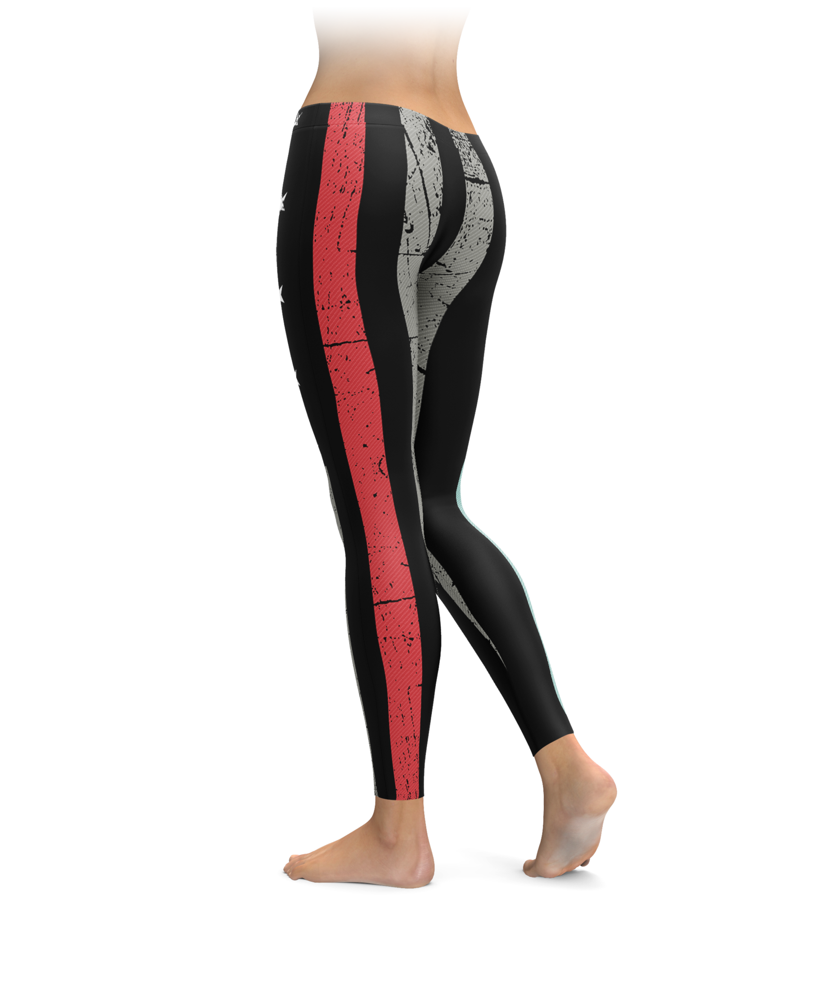 Transparent tights thin. Red line leggings