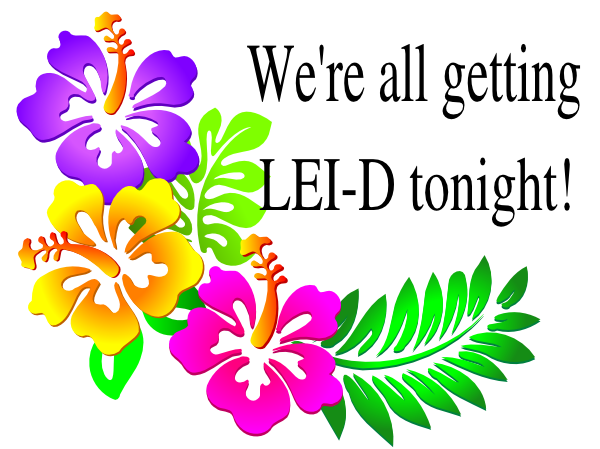 D clip art at. Lei vector clipart freeuse download