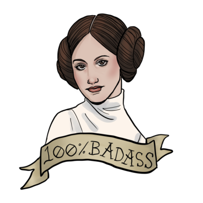Leia drawing carrie fisher. I ve had a