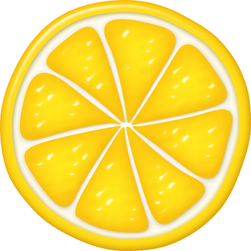 Lemon clipart. Fruity cutie pinterest slice