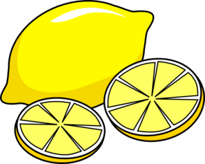 lemon clipart yellow thing