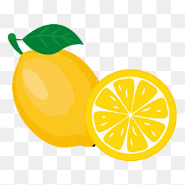 Lemon clipart psd. Material png vectors and
