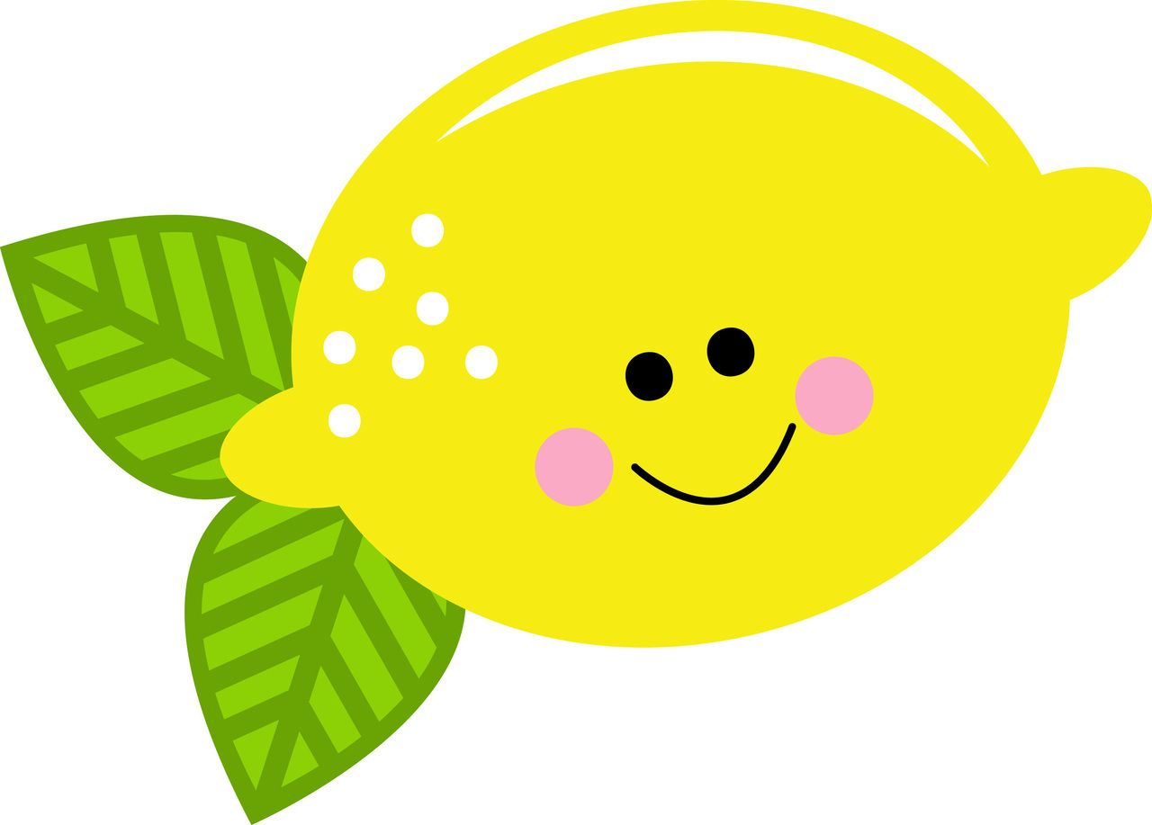 lemon clipart svg