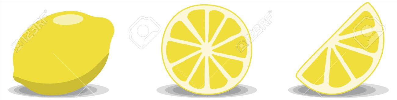Lemon clipart yellow thing. Three pencil and in