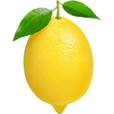 Lemon clipart yellow thing. Single transparent png stickpng